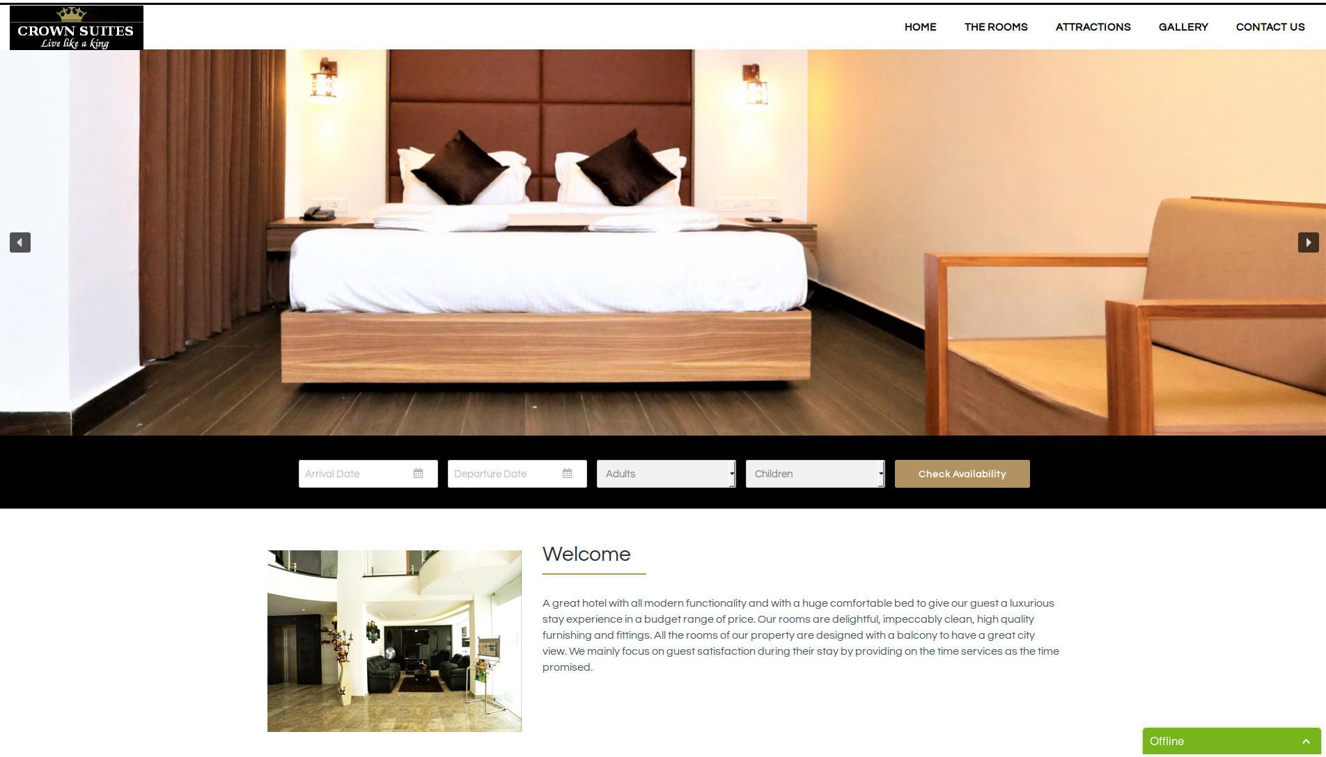 Hotel Crown Suites Kochi