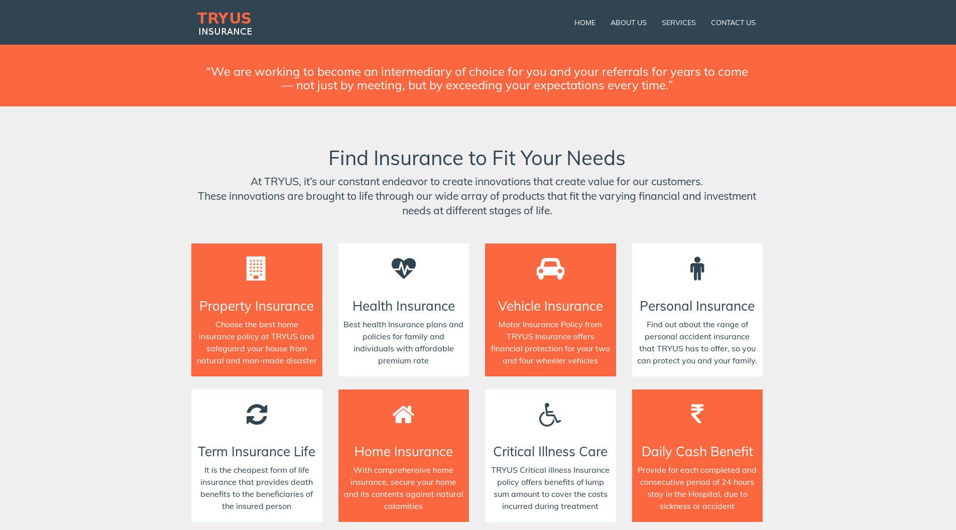 Tryus Insurance