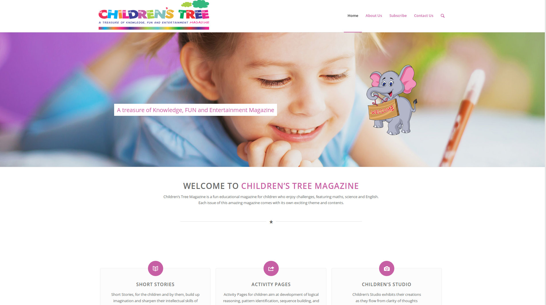 Children's tree magazine