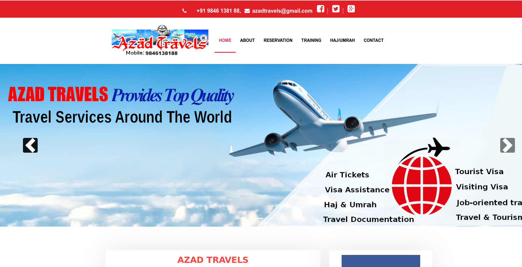 Azad Travels